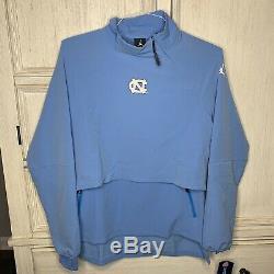 UNC North Carolina Tar Heels Nike Jordan 23 Tech 1/4 Zip Jacket Mens Size Medium