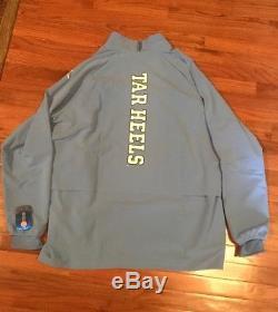 UNC North Carolina Tar Heels Nike Jordan 23 Tech 1/4-Zip Jacket NWT 4XL XXXXL