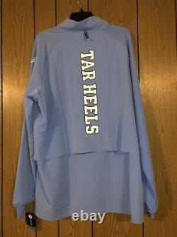 UNC North Carolina Tar Heels Nike Jordan 23 Tech 1/4-Zip Shield Jacket Size Med
