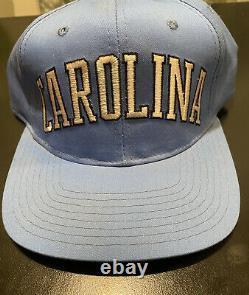 UNC North Carolina Tar Heels Starter Snapback Adult Baseball Basketball Hat VTG