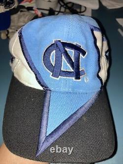 UNC North Carolina Tar Heels TOW Graffiti Snapback Baseball Hat Top of World 90s