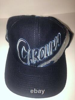 UNC North Carolina Tar Heels The Game Vintage Snapback Cap Hat Big Logo