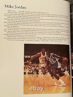 UNC TarHeels National Championship NCAA Basketball 1982 Hardcover Book