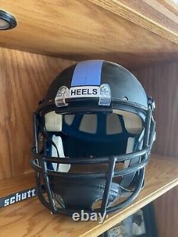 UNC Tar Heels Full Size Schutt Football Helmet Blackout Version