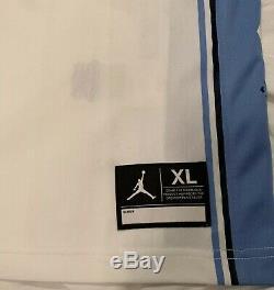 UNC Tar Heels Michael Jordan 23 Stitched Basketball Jersey XL White Carolina