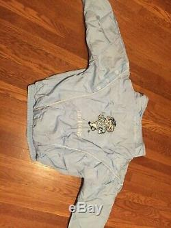UNC Tar Heels North Carolina Blue Jump Suit Track Suit Jacket Pants
