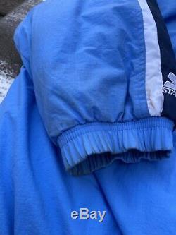 UNC Tarheels Starter Winter Jacket Vintage Mens 4XL North Carolina Blue Vtg