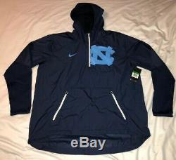 UNC University of North Carolina Tar Heels Nike Sideline Fly Rush Jacket XL