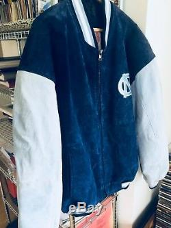 University Of North Carolina UNC Tar Heels Size L Varsity velvet Jacket style