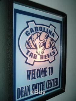 University of North Carolina Tar Heels UNC Basketball Bar Man Cave Lighted Sign