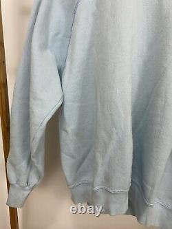 VTG 80s UNC Tar Heels Rameses Big Graphic Soft Tultex Raglan Sweatshirt XL USA