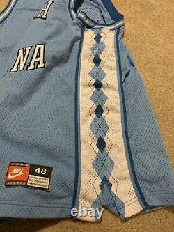 VTG Mens Nike VINCE CARTER #15 Sz XL 48 UNC North Carolina Tar Heels Jersey