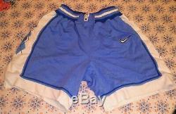 VTG Nike Authentic North Carolina Tar Heels UNC Mens Shorts M NCAA Made In USA