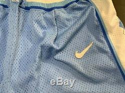 VTG Nike Authentic North Carolina Tar Heels UNC Vintage Shorts XL Jordan NCAA