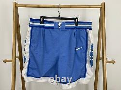 VTG Nike North Carolina TAR HEELS UNC Authentic Basketball Shorts Size 36 (L)