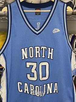 VTG Nike UNC North Carolina Rasheed Wallace #42 Basketball Jersey, Tar Heels XXL