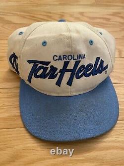 VTG UNC North Carolina Tar Heels Script Sports Specialties Snapback Hat