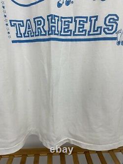VTG UNC Tar Heels 1991 ACC Champs Super Burnout Thin T-Shirt RARE Size XXL