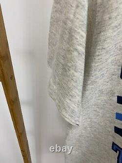 VTG UNC Tar Heels Carolina Tri-Blend Super Thin Single Stitch T-Shirt Size L USA