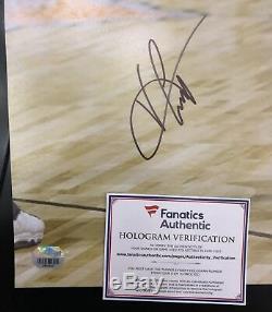 Vince Carter Signed 16x20 UNC Tar Heels Nets, Raptors Fanatics COA