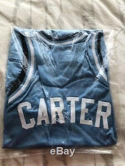 Vince Carter Signed Unc North Carolina Tar Heels Jersey With Coa