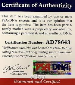 Vince Carter UNC North Carolina Tar Heels Signed 8x10 Photo PSA/DNA