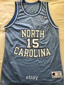 Vince Carter UNC Tar Heels 1995 1996 FRESHMAN authentic Champion stitched jersey