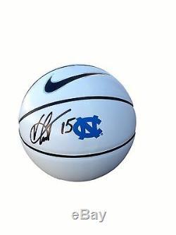 Vince Carter Unc North Carolina Tar Heels Signed Nike Logo Basketball Jsa