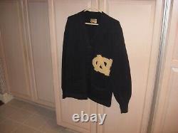 Vintage 1945 Mens UNC University North Carolina Tar Heels Letterman Sweater Rare