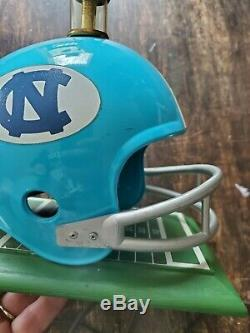 Vintage 70s 80s UNC Tarheels helmet lamp NICE vtg NCAA ACC