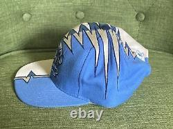 Vintage 90s North Carolina Starter Tarheels Whiteside WS Shockwave Hat RARE UNC