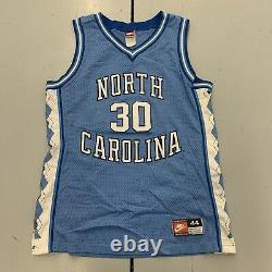 Vintage 90s UNC North Carolina Tar Heels Rasheed Wallace #30 Jersey Mens Size LG