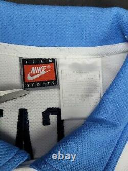 Vintage 90s UNC Tar Heels Nike Warm Up Shooting Jersey Shirt XXL NCAA Basketball