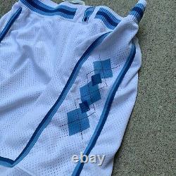 Vintage Authentic Nike North Carolina Tar Heels Shorts 34 UNC swingman Jordan 90