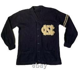 Vintage Cardigan Varsity 60s UNC North Carolina Tar Heels Jacket Japan USA