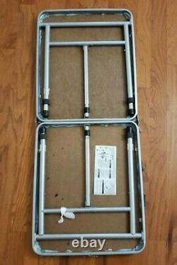 Vintage Carolina Tar Heels Folding Table Unc Tailgate Table Unc Beer Pong