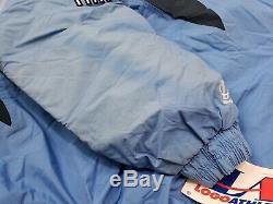 Vintage Logo Athletics North Carolina UNC Tar Heels Jacket Mens Size Large NEW