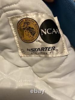 Vintage Mens Starter North Carolina Tar Heels Satin Jacket Size Small UNC