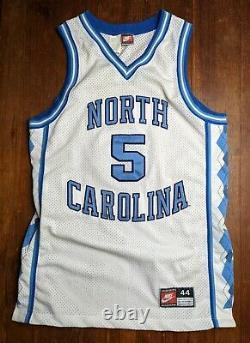 Vintage NIKE Ed Cota Jersey North Carolina Tar Heels Basketball NCAA UNC EUC 44
