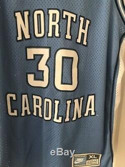Vintage NIKE UNC North Carolina Tar Heels Rasheed Wallace Jersey XXL 2XL EUC
