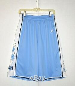 Vintage Nike Air Jordan NCAA North Carolina UNC Tar Heels Shorts sz S USED