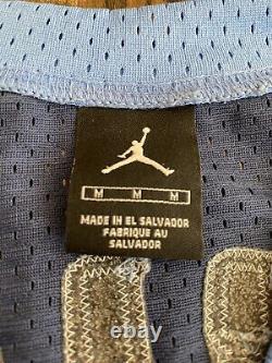 Vintage Nike MICHAEL JORDAN #23 UNC North Carolina Tar Heels Jersey Medium M 40