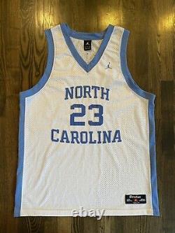 Vintage Nike MICHAEL JORDAN #23 UNC North Carolina Tar Heels Jersey Size XL 48