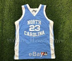 Vintage Nike MICHAEL JORDAN North Carolina Tar Heels Jersey UNC Basketball Sz 44