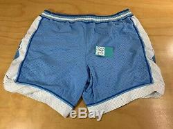 Vintage Nike North Carolina Unc Tar Heels Basketball Shorts Blue 38 XL Jordan