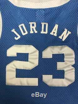 Vintage Nike UNC North Carolina Tar Heels Michael Jordan Authentic Jersey Sz. 44