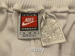 Vintage Nike UNC North Carolina Tar Heels Team Issued Game Shorts 34 Medium M