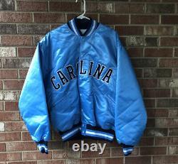 Vintage North Carolina Tar Heels UNC Felco Jacket Button Mens Size 2XL