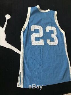Vintage OG 1980s Sand Knit NBA Michael Jordan UNC Tarheels Game JerseySZ M