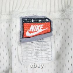 Vintage Team Nike UNC North Carolina Tar Heels Basketball Shorts Argyle L 38-42